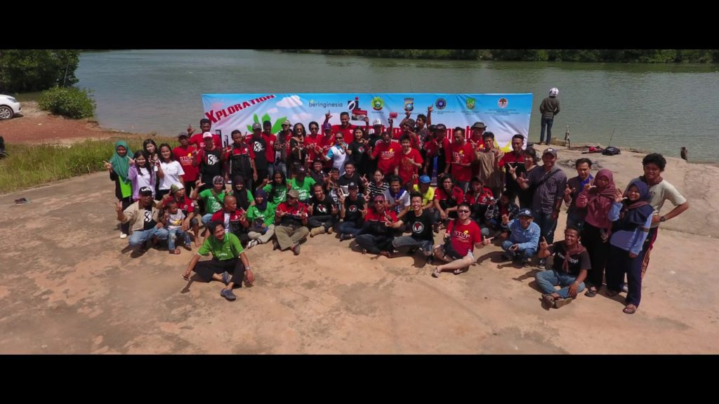 Group Photo in Mangrove Preservation