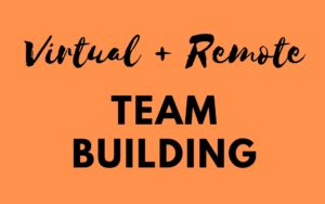 remote virtual team building