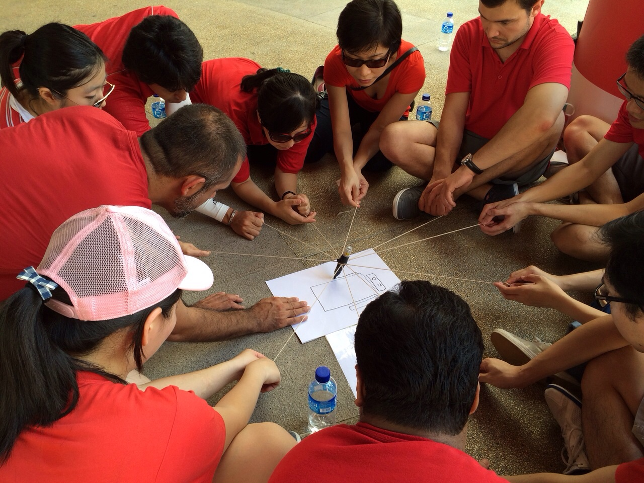amazing race teambuilding activity